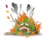Le Brûlage des déchets verts